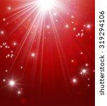 fairytale shiny red background... | Shutterstock . vector #319294106