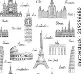 Travel Seamless Pattern....