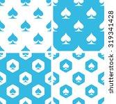 spades patterns set