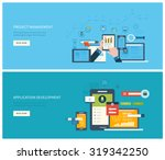 flat vector design illustration ... | Shutterstock .eps vector #319342250