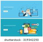 flat vector design illustration ... | Shutterstock .eps vector #319342250