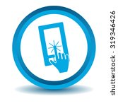 smartphone touchscreen icon ...