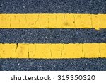 The Yellow Traffic Lines On Th...