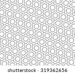 vector modern seamless geometry ... | Shutterstock .eps vector #319362656