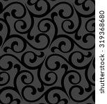 floral pattern. wallpaper... | Shutterstock .eps vector #319368680