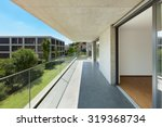 building apartment in cement ... | Shutterstock . vector #319368734