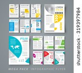 mega pack infographic flyer... | Shutterstock .eps vector #319397984