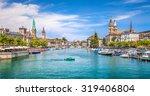 panoramic view of historic...   Shutterstock . vector #319406804