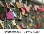 Love Locks On A Bridge In...