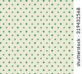 polka dot doodle pattern | Shutterstock .eps vector #319432568