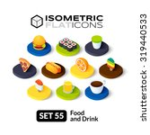 isometric flat icons  3d... | Shutterstock .eps vector #319440533