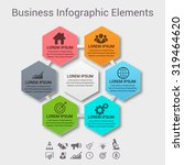 infographic design elements for ... | Shutterstock .eps vector #319464620