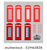 Red Telephone Box   Multiple...