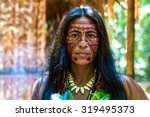 Native Brazilian Woman At An...