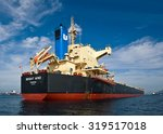 bulk carrier bright wind at