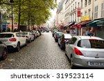 paris  france   august 09  2015 ... | Shutterstock . vector #319523114