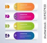 modern infographic design... | Shutterstock .eps vector #319527920