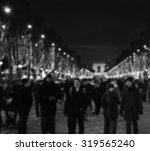 blurred photo of people... | Shutterstock . vector #319565240