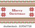 vector illustration of a red ... | Shutterstock .eps vector #319567718
