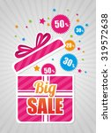 big sale discounts and offers... | Shutterstock .eps vector #319572638