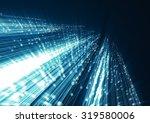 abstract geometric technology...   Shutterstock . vector #319580006