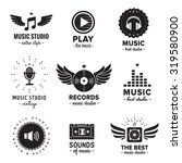 Music Studio And Radio Logos...