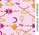 seamless pattern with modern... | Shutterstock .eps vector #319585220