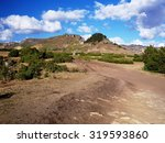 Small photo of Mountains near Lalibela, Ethiopian Highlands Abuna Yosef trek