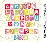 abc for kids | Shutterstock .eps vector #319596944