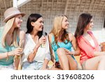 summer holidays and vacation... | Shutterstock . vector #319608206