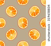 seamless fruits pattern with...   Shutterstock .eps vector #319658834