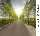 forest road | Shutterstock . vector #319664606