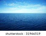 ocean water surface   Shutterstock . vector #31966519