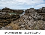 rocks of vivonne bay kangaroo... | Shutterstock . vector #319696340