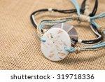 Round Shape Sea Shell Bracelet...