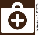 first aid vector icon. style is ... | Shutterstock .eps vector #319721750