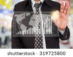 businessman standing posture... | Shutterstock . vector #319725800