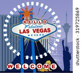 Las Vegas Sign Altered To Say...