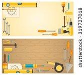web banner concept of diy shop. ...   Shutterstock .eps vector #319727018