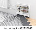 underfloor heating with