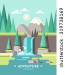 summer landscape. concept for... | Shutterstock .eps vector #319738169