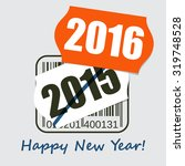 new year greeting poster  card  ... | Shutterstock .eps vector #319748528