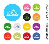 vector illustartion of weather... | Shutterstock .eps vector #319750940