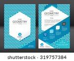 brochure template design.... | Shutterstock .eps vector #319757384