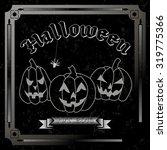 ready invitation for halloween  ... | Shutterstock .eps vector #319775366