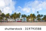 miami beach  florida usa... | Shutterstock . vector #319793588