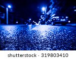 Night City After Rain  Parked...