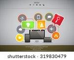 business infographics | Shutterstock .eps vector #319830479