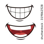 funny cartoon face design ...   Shutterstock .eps vector #319862528