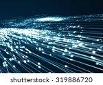 abstract geometric technology... | Shutterstock . vector #319886720